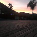 Yoga Deck Sunset