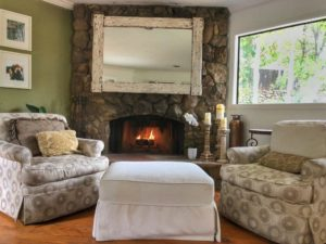 Living Room Fireplace Malibu