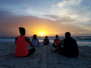 Greeting the Sun with Shaman Life Source Retreats